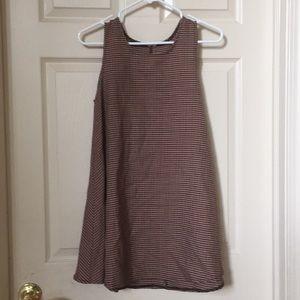 Brandy Melville Plaid Alena Dress
